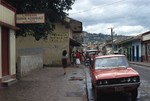 Matagalpa Street View, Pharmacy, and Book Store