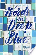 Words in deep blue 's cover